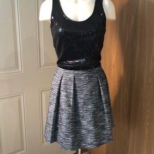 Madewell Mini Tweed Blend Skirt